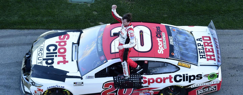 Erik Jones Wins Crash-Filled Busch Clash At Daytona International Speedway