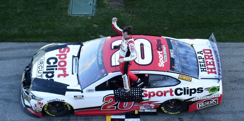 Erik Jones Wins Crash-Filled Busch Clash At Daytona International Speedway