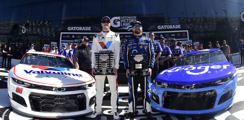 Ricky Stenhouse Jr. Captures Daytona 500 Pole in JTG Daugherty Racing's No. 47 Kroger Camaro ZL1 1LE