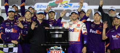 Denny Hamlin Edges Ryan Blaney For Third Daytona 500 Win
