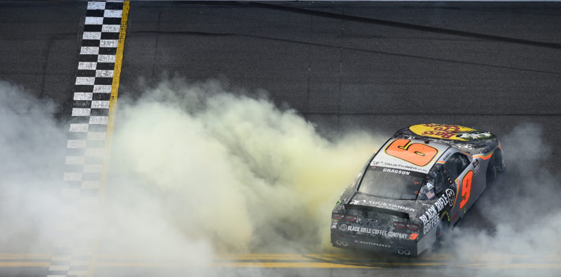 Noah Gragson Holds Off Harrison Burton To Capture First Xfinity Series Win In Daytona