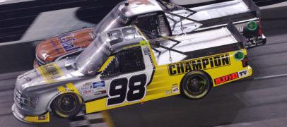 Grant Enfinger Edges South Carolina's Jordan Anderson In Photo Finish At Daytona