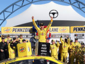 Joey Logano Defends Las Vegas Victory After Not Pitting In Closing Laps