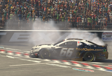 Timmy Hill Wins O'Reilly Auto Parts 125 eNASCAR iRacing Pro Series Invitational At Texas Motor Speedway