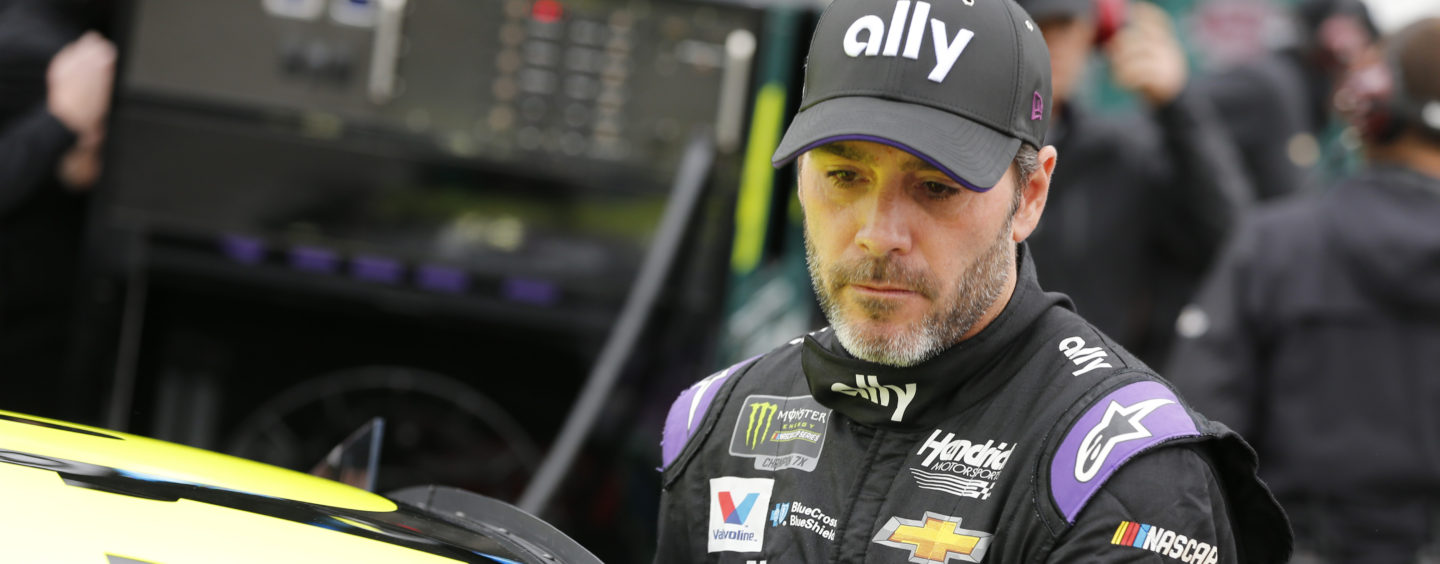 Jimmie Johnson To Be Grand Marshal, Voices Of Service To Sing National Anthem At Atlanta Motor Speedway