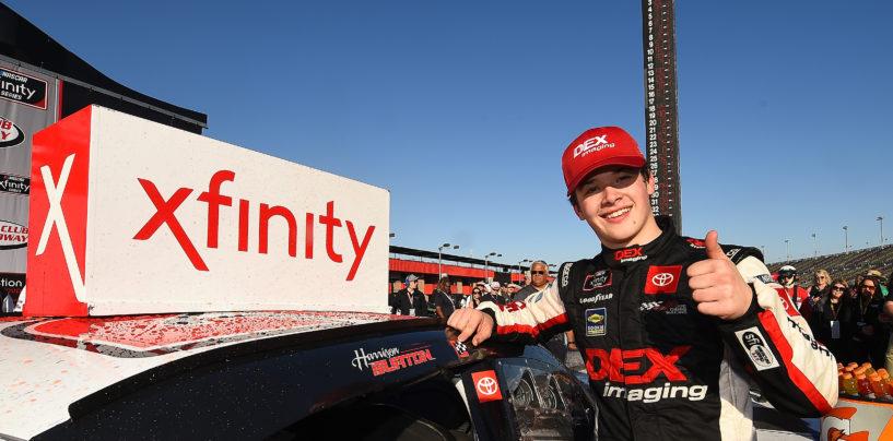 Harrison Burton Captures First NASCAR Xfinity Series Victory At Auto Club Speedway