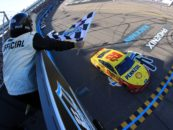 Joey Logano Overcomes Pit Road Issues At Phoenix Raceway To Win In Overtime