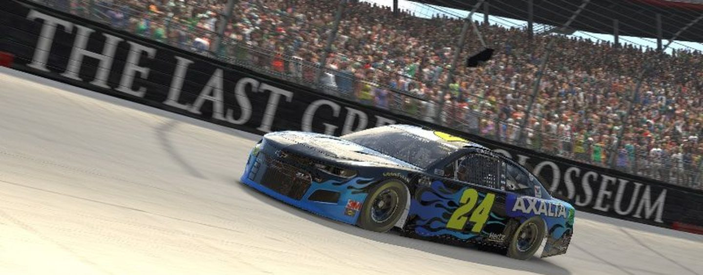 Byron Races To iRacing Pro Invitational Win Sunday At Virtual Bristol Motor Speedway's Food City Showdown