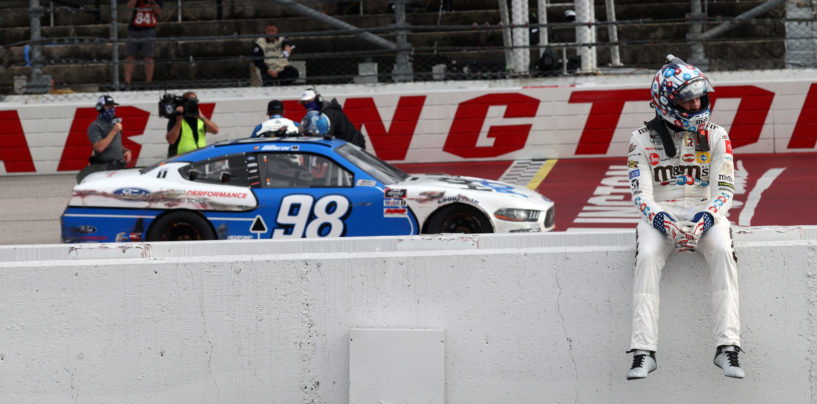 Chase Briscoe Holds Kyle Busch Off In Wild Darlington NASCAR Xfinity Series Finish
