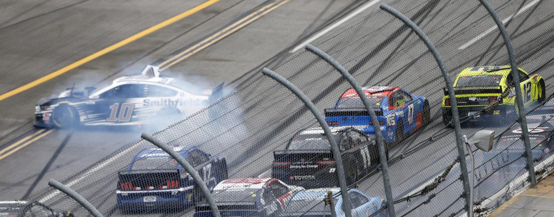 Ryan Blaney Edges Ricky Stenhouse Jr. At Talladega As Field Crashes Across Finish Line