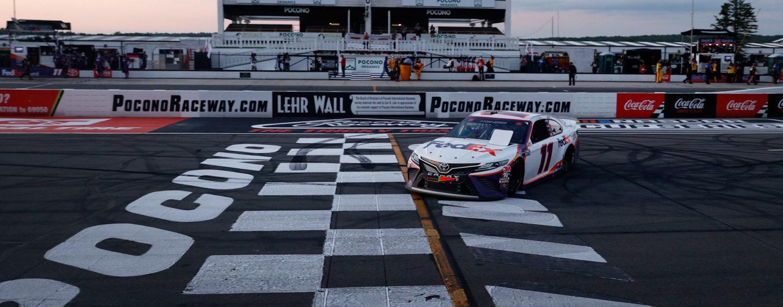 Hamlin, Briscoe and Jones Earn Wins In NASCAR Triple Header At Pocono Raceway