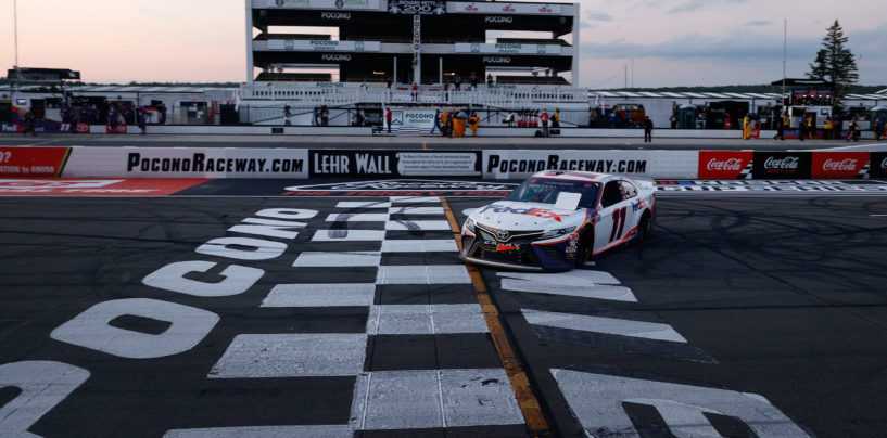 Hamlin, Briscoe and Jones Earn Wins In NASCAR Triple Header At Pocono Raceway
