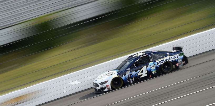 Kevin Harvick Holds Off Denny Hamlin For First Pocono Win