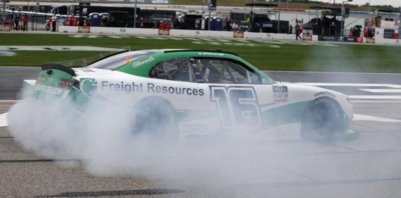 AJ Allmendinger Earns First Career NASCAR Oval Victory In EchoPark 250