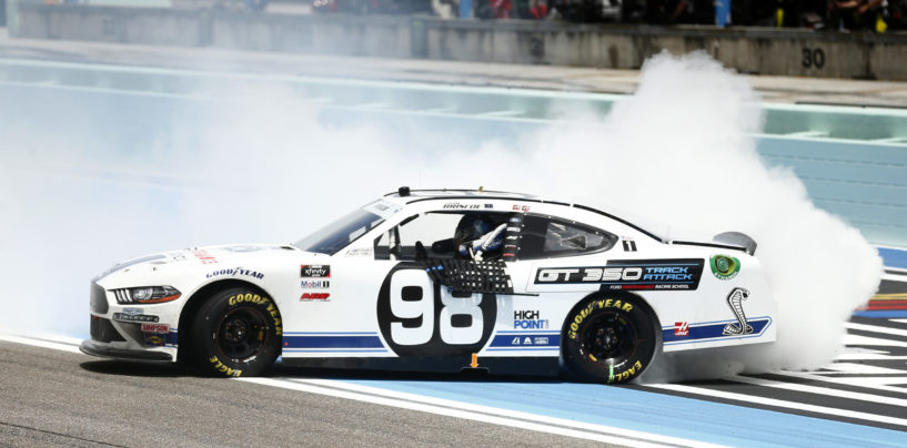Chase Briscoe Gets Fifth Career Xfinity Win At Homestead-Miami