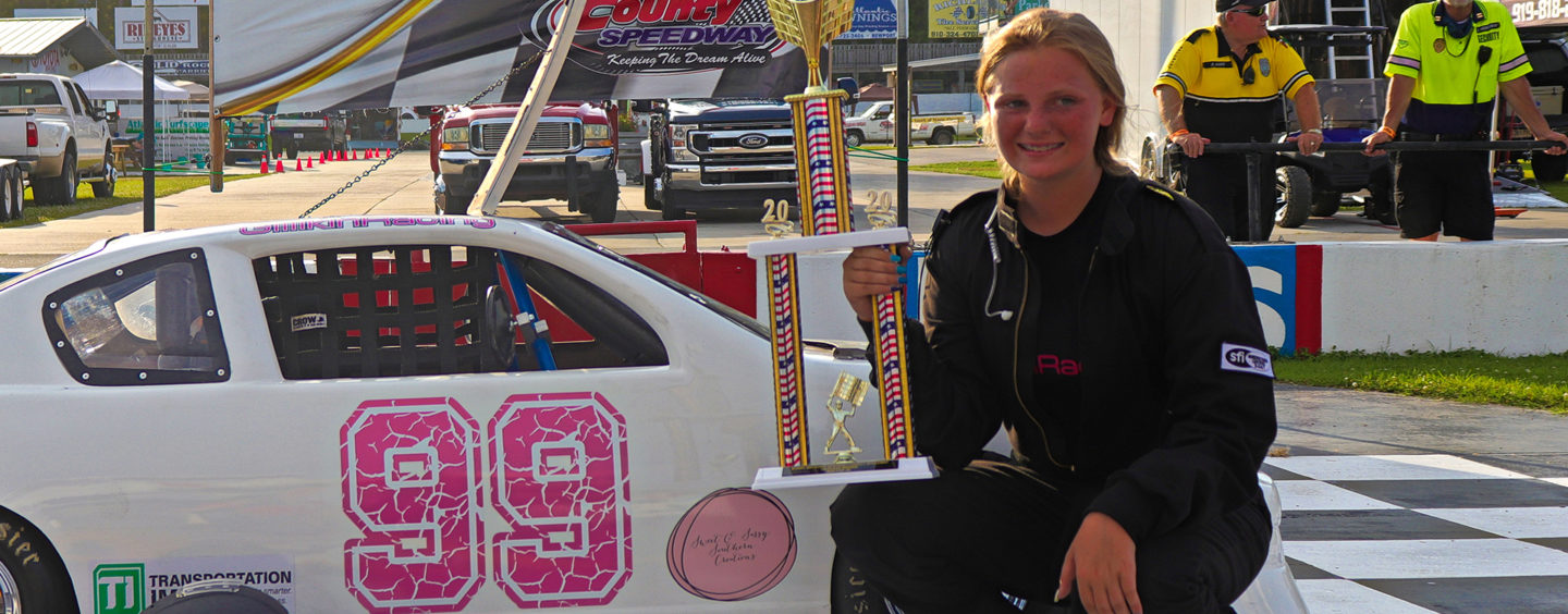 Carsyn Gillikin Victory Headlines Electrifying Season Opener At Carteret County Speedway