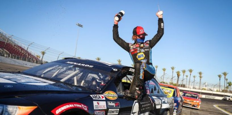 Jesse Love Rolls To ARCA Win At Irwindale