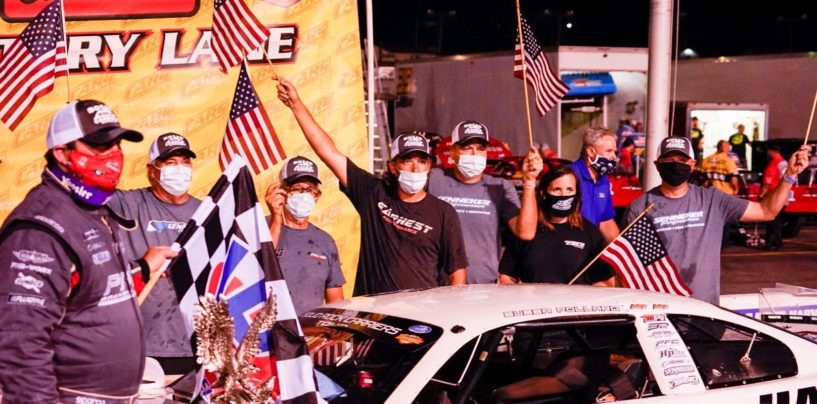 Pollard Goes Back-To-Back; Wins Inaugural Thomas Automotive American Freedom 300 At Jennerstown