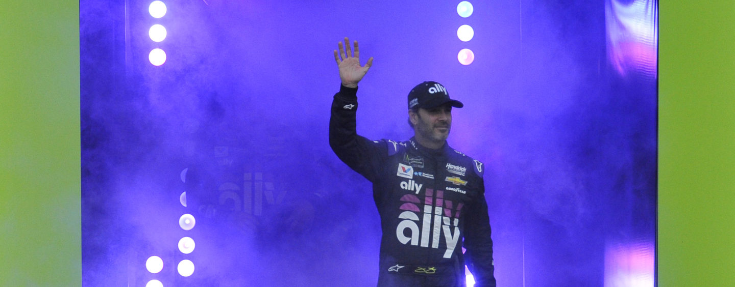 Jimmie Johnson Tests Positive For COVID-19