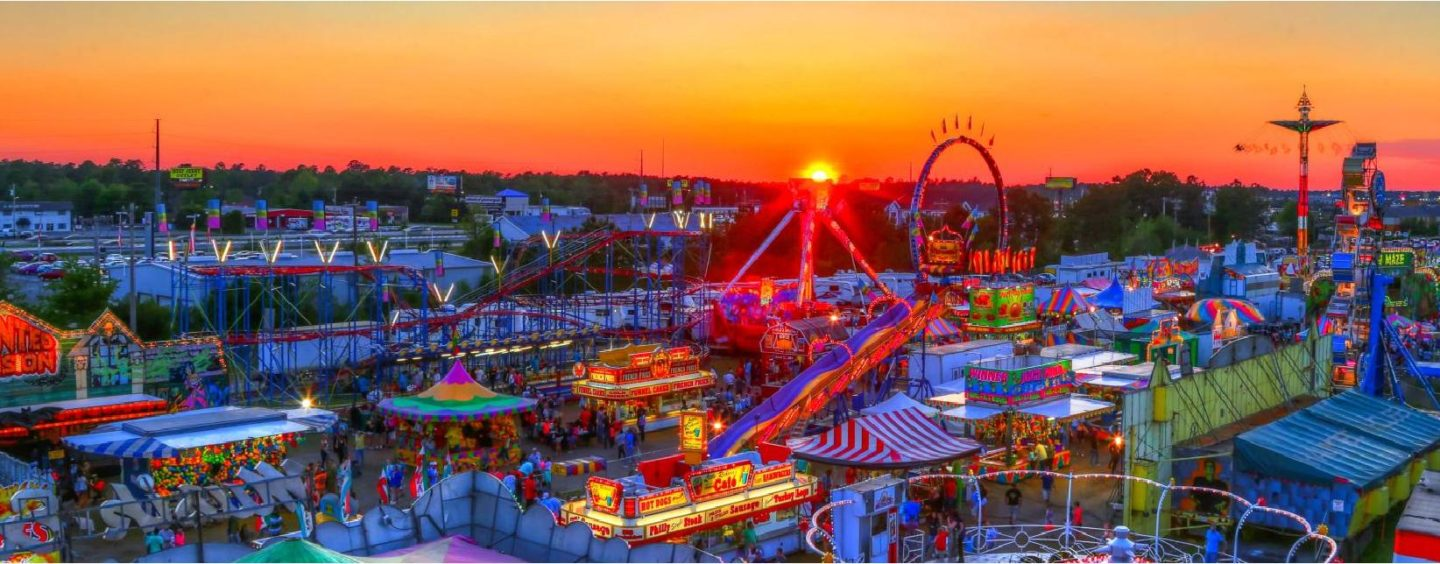 """Celebrate July 4th At Myrtle Beach Speedway With """"Stars And Stripes Saturday"""" Featuring Fireworks At The Horry County Fair"""