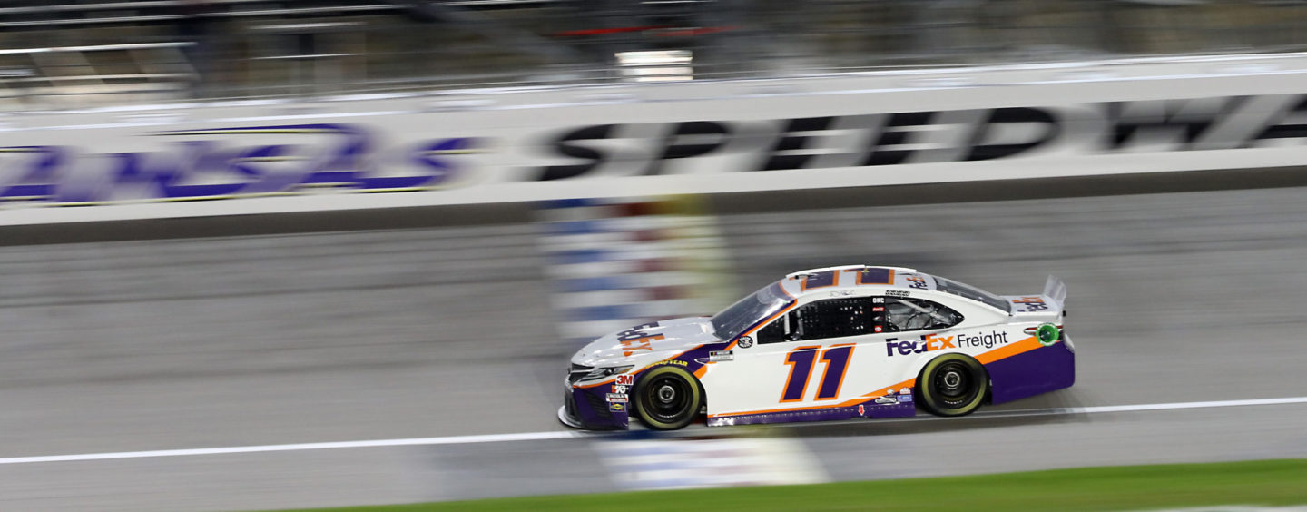 Denny Hamlin Captures Fifth Victory Of 2020 At Kansas Speedway On Thursday