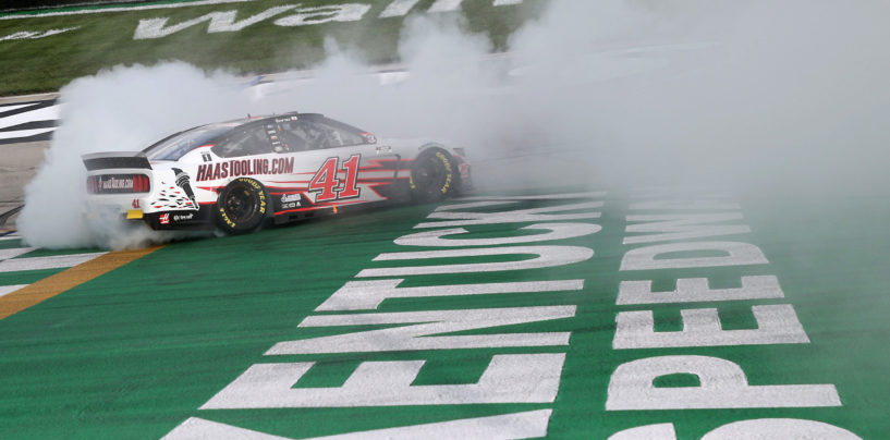 Rookie Cole Custer Earns First NASCAR Cup Series Win At Kentucky Speedway