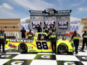 Matt Crafton Collects First Win Since 2017, Emerges Victorious In E.P.T 200 At Kansas Speedway