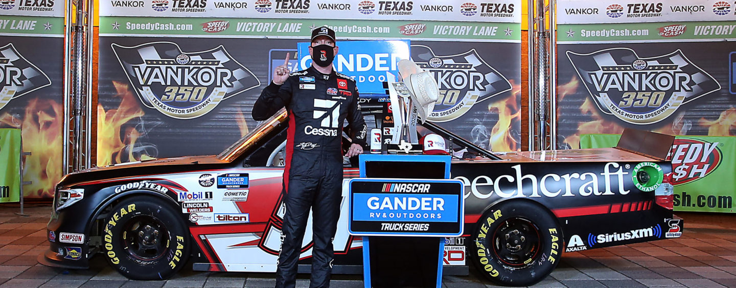 Kyle Busch Takes Victory, Kyle Busch Motorsports Finishes 1-2 In Vankor 350