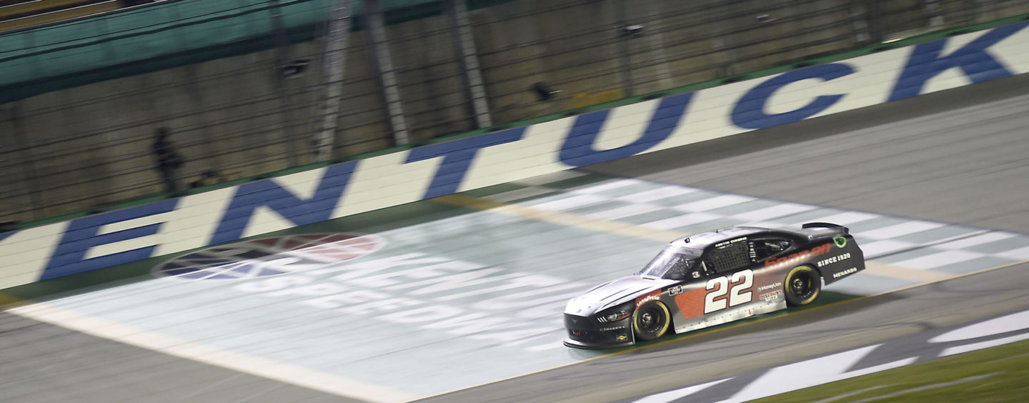 Austin Cindric Earns Overtime Victory At Kentucky