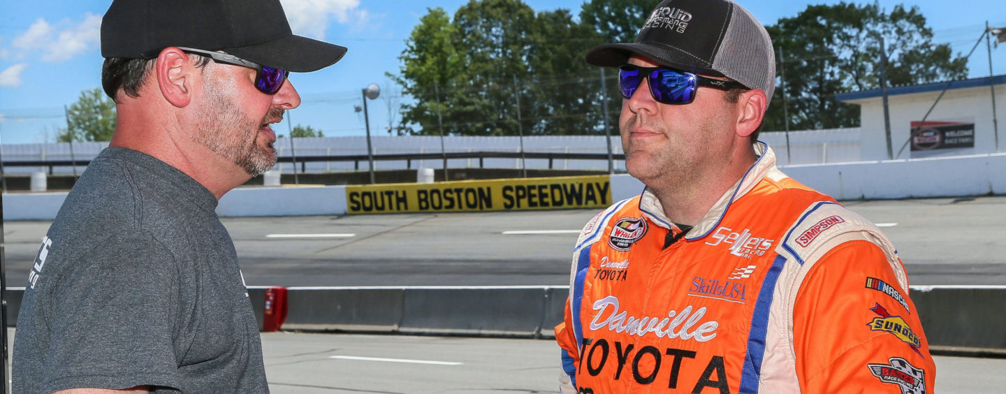 Sellers Works To Improve Car While South Boston Speedway Waits To Open Season