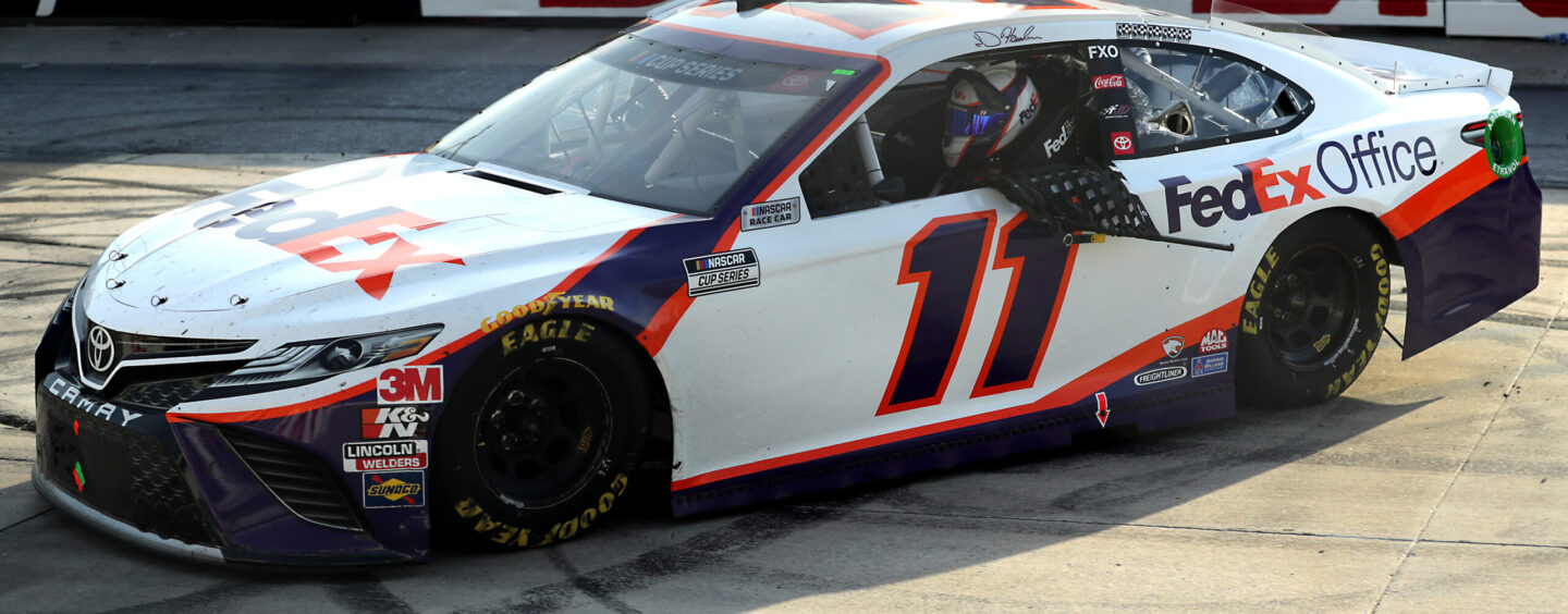 Denny Hamlin Gains First Dover Victory In 'Drydene 311' NASCAR Cup Series Race
