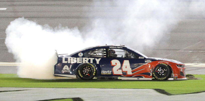 William Byron Advances To NASCAR Playoffs With First Cup Series Win At Daytona