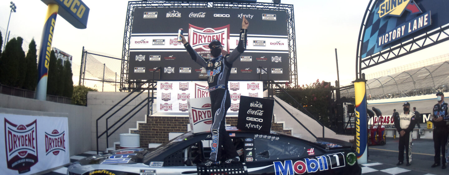 Kevin Harvick Triumphs In 'Drydene 311' NASCAR Cup Series Race