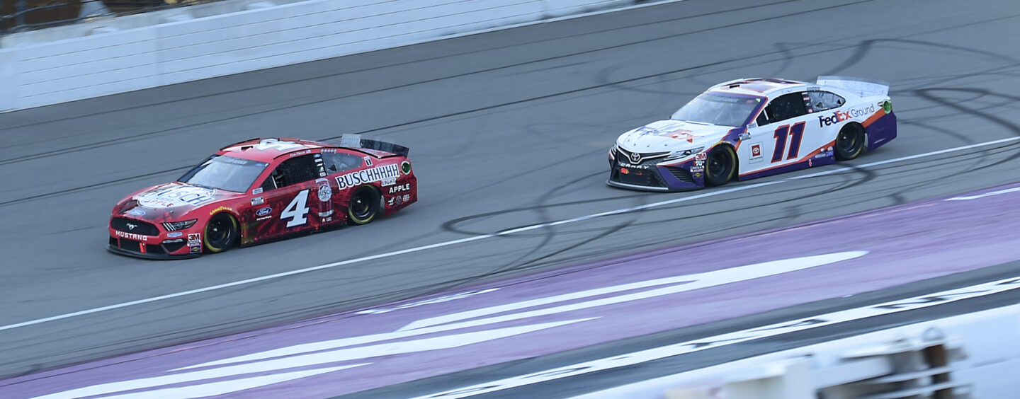 Kevin Harvick Completes Michigan Sweep After Holding Off Hamlin For Sixth Win