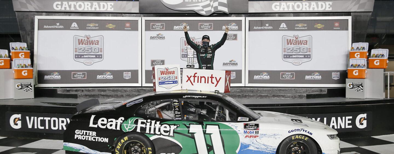 Justin Haley Emerges With Win In Wild Finish In Wawa 250 At Daytona