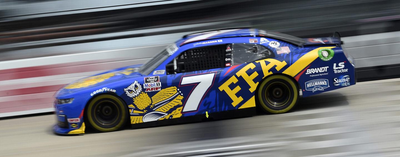 Justin Allgaier Earns Victory In 'Drydene 200' NASCAR Xfinity Series Race