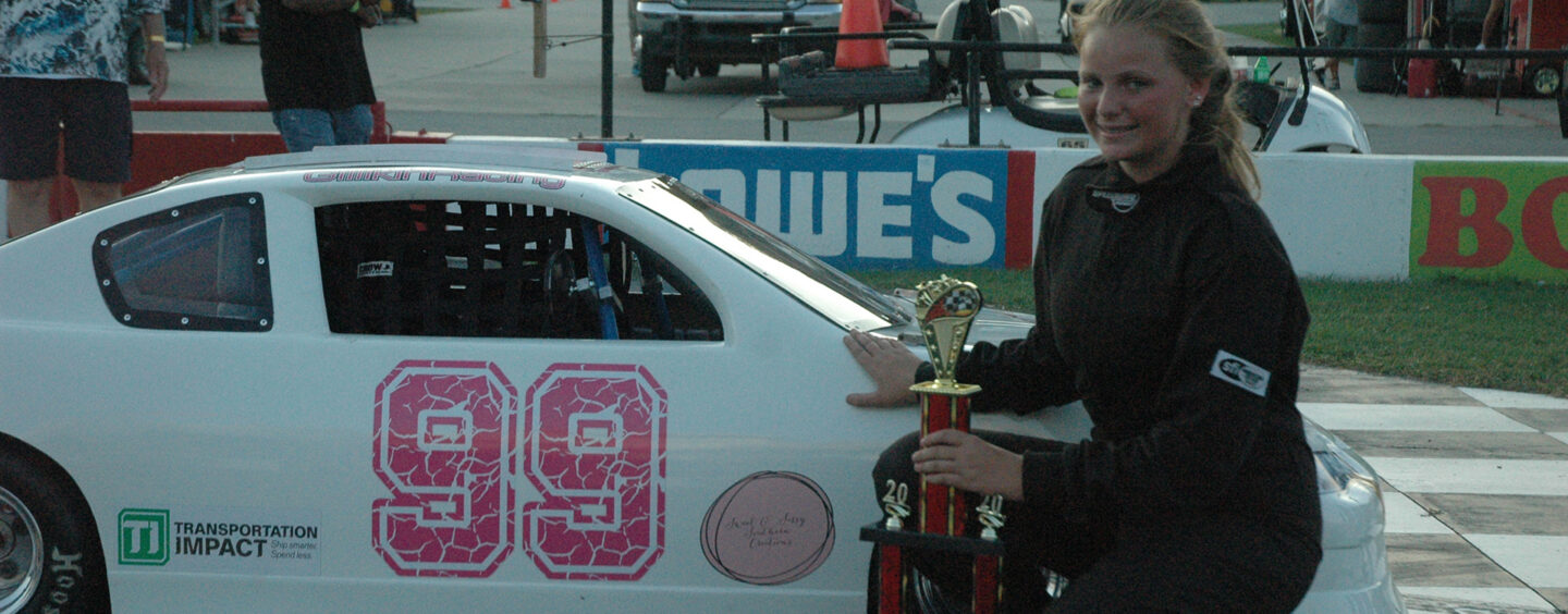 Stephen Sanders Claims Victory In Wild Mini-Stock Showdown; Carsyn Gillikin Wins First All-Female Race In Carteret County