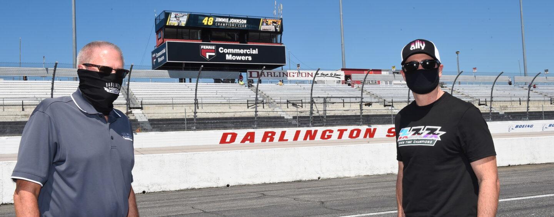 Darlington Raceway Names Backstretch Suites The Jimmie Johnson Champions Club
