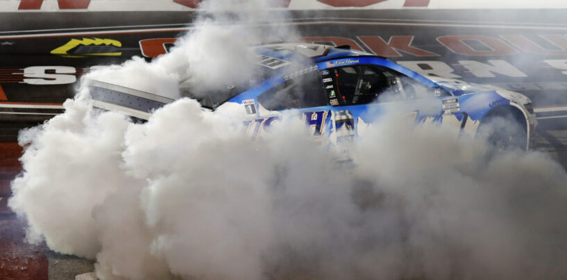 Kevin Harvick Wins 71st Running Of The Cook Out Southern 500 To Advance In The NASCAR Playoffs