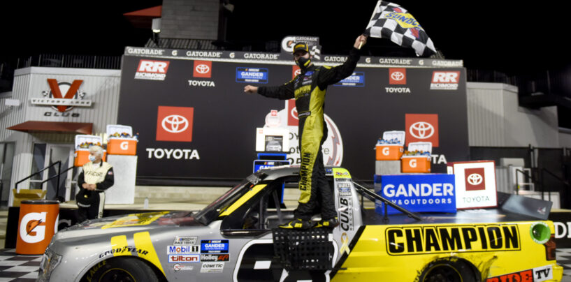 Grant Enfinger Victorious In ToyotaCare 250 At Richmond Raceway