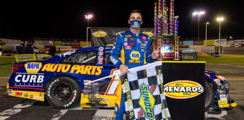 Gio Scelzi Earns First ARCA Menards Win With Aggression At All American