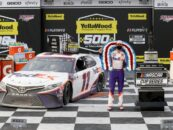 Wild Finish: Denny Hamlin Wins YellaWood 500 At Talladega Superspeedway – Through Turn Four, Vaults To Lead From Fifth