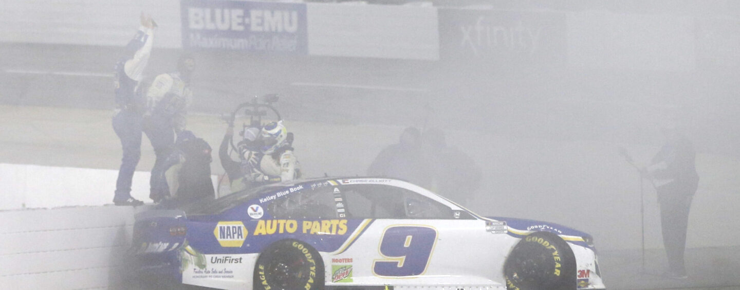 Chase Elliott Dominates At Martinsville To Advance To The Championship 4