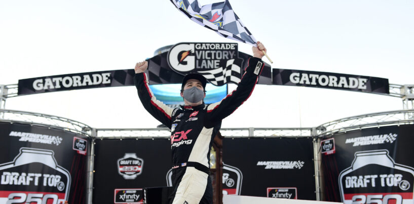Harrison Burton Takes Checkered Flag In Draft Top 250 NASCAR Xfinity Series Playoff Race At Martinsville Speedway