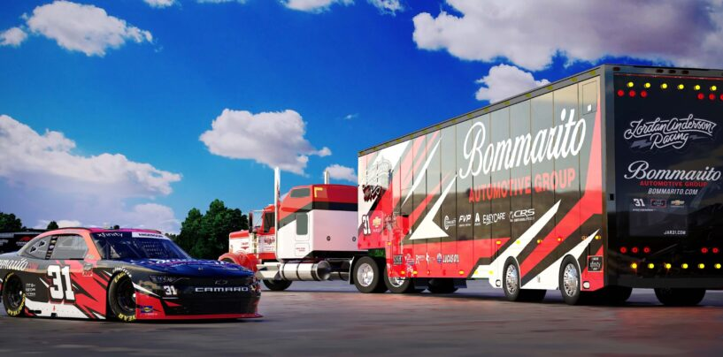 Jordan Anderson And Bommarito Automotive Group To Run For 2021 NASCAR Xfinity Series Rookie Of The Year