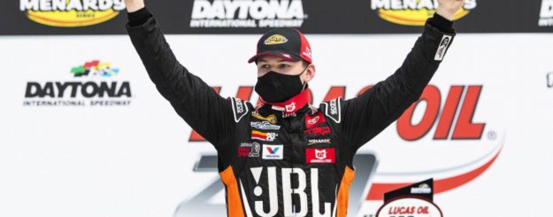 Corey Heim Starts 2021 ARCA Menards Series Season With Win At Daytona