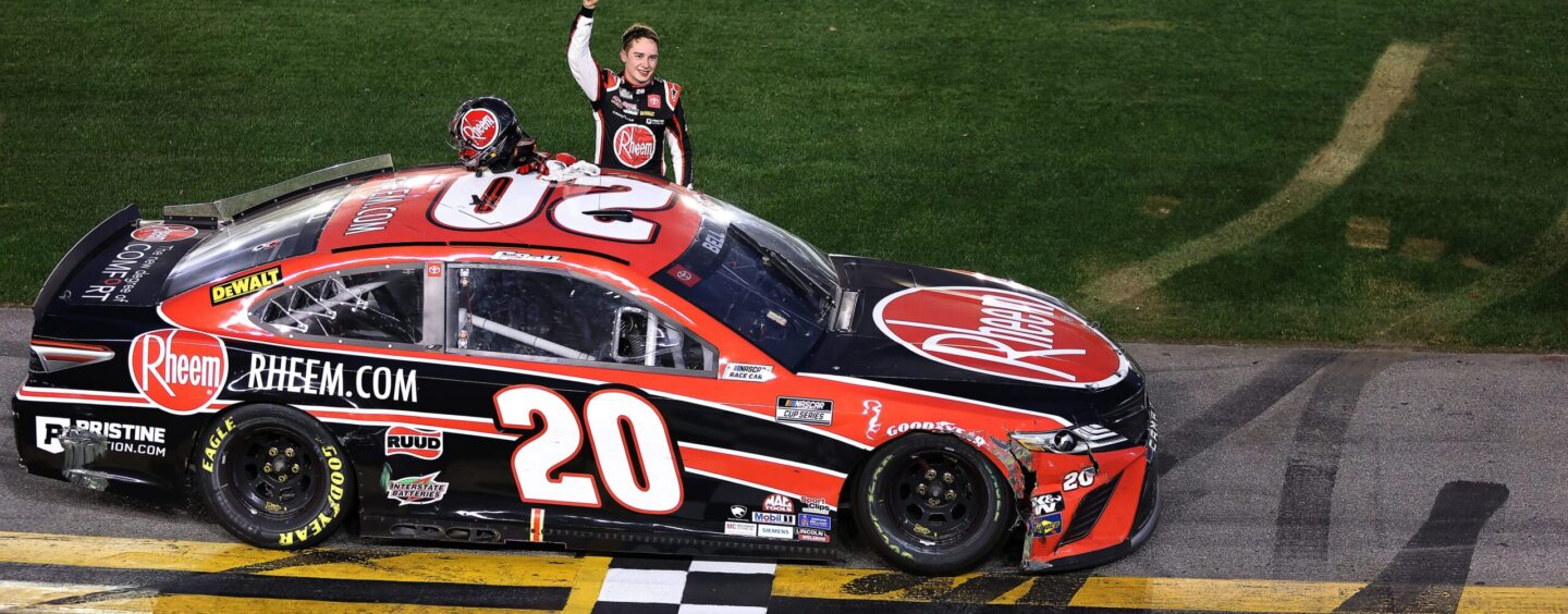 Christopher Bell Tracks Down Joey Logano At The Daytona Road Course For First Cup Series Win