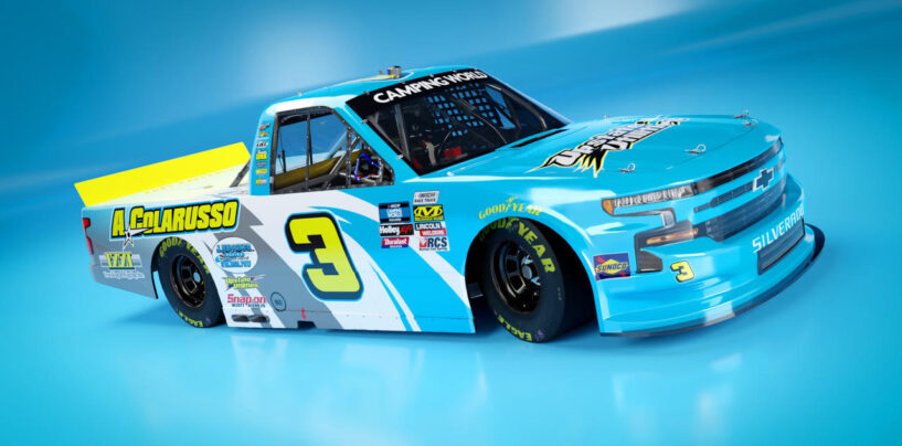 J.R. Heffner Partners With Jordan Anderson Racing For Bristol Dirt NASCAR Camping World Truck Series Race