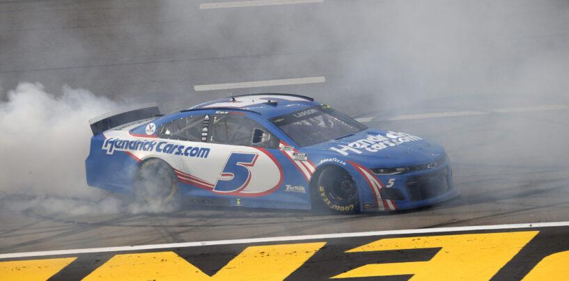 Kyle Larson Wins NASCAR Cup Race At Las Vegas Motor Speedway