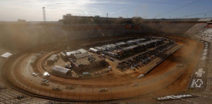 NASCAR Dirt Doubleheader At Bristol Postponed To Monday